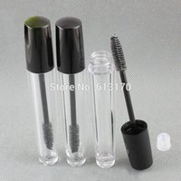 New arrival 8ml Mascara tubes With Black Cap Empty Clear rev...