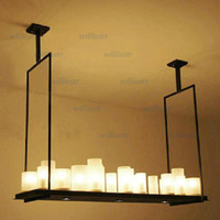 Kevin Reilly Altar Modern Pendant lamp LED candle remote con...