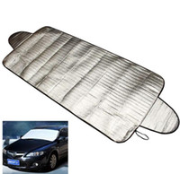 Car-styling Car Covers 192 x 70 cm Parabrisas Auto Cover Heat Sun Shade Anti Snow Frost Ice Shield Protector contra el polvo