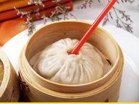 수프 고기 만두에 대한 뚜껑이있는 3.5 인치 미니 대나무 기선 바구니 Baozi 딤섬 요리 도구 레스토랑 용품을 김이 나는 야채