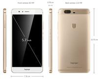 Original Huawei Honor V8 4G LTE-Handy Kirin 950 Octa-Core 4 GB RAM 32 GB ROM Android 5.7 Zoll 12.0mp Fingerabdruck-ID intelligentes Handy
