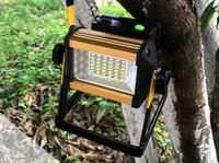 Led Sel Işık 4x18650 Pil Şarj 50 W beyaz Peyzaj Işıklandırmalı Açık Işıklar 85-265 V