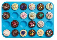 Mini Muffin Cup 24 Loch Silikon Soap Cookies Cupcake Backformen Mini Kuchenform Pan Mold