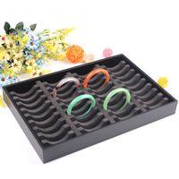 Fashion High Quality Bracelet Holder Display 40 Units Bangle Stand Tray Jewelry Storage Box Organizer Showcase