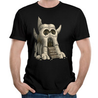 T-shirt da uomo di alta qualità 2017 Strange Skull House For Men T-shirt Fashion Style Street Wear Shirts
