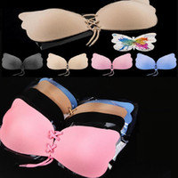 Butterfly Shaped Bras for Women Self- Adhesive Push Up Silico...