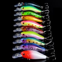 Новая приманка для рыбалки 7Cm 8G Pesca Crankbait Hard Bait Tackle Искусственные приманки Swimbait Fish Китай Wobbler Minnows Hooks