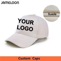 Zefit Personnalisé 3D Broderie LOGO Suede Tissu Adulte Enfants Casquettes de Baseball Famille Danseurs Équipe Conception Courbée Brim Impression Coton Chapeaux