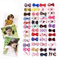 Everweekend Baby Girls Candy Bow Hair Clips Hairpins Rope Sw...