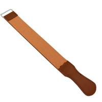 2017 دائم المزدوج حزام جلد الحلاقة حزام حزام لل حلاقة مستقيم الحلاقة سكين شحذ حلاقة الضروري تعرية الجلود