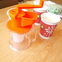 Multifunktions-Soja-Milch-Maschine manuell Hand, Soja-Milch-Maschine manuelle Entsafter Weinpresse Sojabohnenmilch