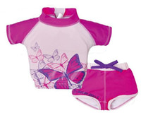 Brand New Cute Outdoor Swimwear UV Protection Girls Buoyancy...