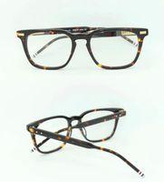 새로운 안경 프레임 TB402 남성용 안경 프레임 안경 여성 Myopia 브랜드 디자이너 안경 프레임 프레임 원래 상자가있는 클리어 렌즈