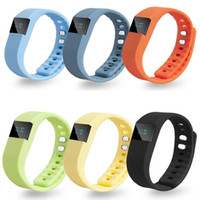 TW64 Smart Bracelet Bluetooth Smart Wristbands montre intelligente Waterproof Passometer Sleep Tracker Fonction pour Android ios OTH048