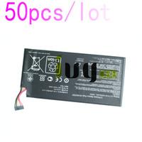 50pcs / lot 100% d'origine 4325mah C11-ME370T C11 ME370T Batterie pour google ASUS nexus7 nexus 7