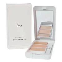 최고 품질의 IPSA 3 색 컨실러 크림 형광펜 순수한 메이크업 팔레트