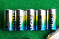 1100 قطعة / الوحدة الزئبق مجانا 0٪ زئبق الرصاص 4LR44 476A 6 فولت بطارية القلوية لكلب مراقبة طوق كاميرات 100٪ مصنع الطازجة بالجملة