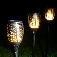 KYFL01-2,2pcs 새로운 LED 태양 불꽃 깜박임 램프 토치 빛 깜박임 정원 경로 잔디 램프에 대 한 태양 전원이 방수 장식 램프