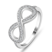 2017 new ring design fashion 925 Sterling Silver Love Infini...