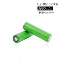 100% original 3.7V 3000 mAh Li Ion wiederaufladbar 18650 Batterie an US18650VTC6 VTC6 30A Elektronische Zigarettenspielzeug Werkzeuge Taschenlampe