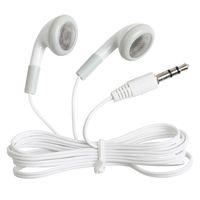 도매 200pcs / lot 헤드폰 헤드셋 mp3 mp4 CD를위한 3.5mm 선물 이어폰 IPHONE 3 4 5 자유로운 선박