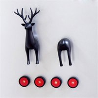 ABS Animal Magnetism Dachshund Dog Deer Fridge Magnet Multif...