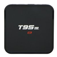 t95m android ott tv box quad core amlogic S905X ram 2g rom 8...