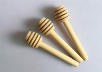Wooden Honey stick Dippers honey stir rod Honey dipper 8 cm ...