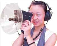 Bionic Ear Bird Watcher 100 Metros de Distância do Som com Fone De Ouvido Mini Bird Watchers natureza monocular Oberveing reprodução de gravação Prato