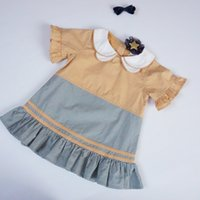 Ruffle Dresses for Girls Kindergarten Back to School Clothes...