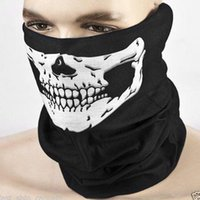 Polyester Skull Masks Outdoor Seamless Bandana Sport Riding ...