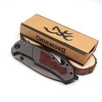 브라우닝 X42 전술 나이프 서바이벌 접이식 칼 나이프 강화 440 57HRC 포켓 사냥 칼 야외 캠핑 EDC 도구