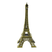 Wholesale- Metal Paris Eiffel Tower Decor Sculpture Model Fi...