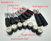 HOT!!! Dual coil 510 skillet wax atomizer double coil skille...