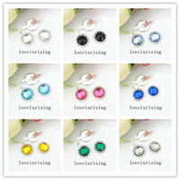 16 Colors You Pick- - 50 PCS acrylic bead Brads Paper Fastener...