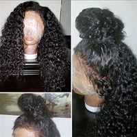 360 кружевной фронтальный парик предварительно сорванный отбеленные узлы тонкой пленки HD передние человеческие парики волос для женщин 14 дюймов 130% плотность дива1