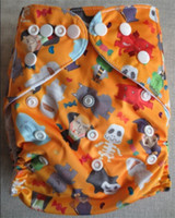 Consegna veloce stoffa Spregiudicatezza pannolino, riutilizzabili lavabili del panno del bambino Pannolini Nappy Pannolini 100 copertura del pannolino + 100 in microfibra inserisce il trasporto libero