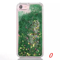 Per LG Q7 MetroPCS Quicksand Strass Custodia per LG Q7 PLUS MetroPCS Per Alcatel 7 Metropcs Glitter Liquid Cover trasparente