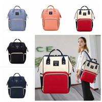 기저귀 가방 미라 출산 기저귀 가방 대용량 아기 가방 여행 배낭 디자이너 간호 가방 5 스타일 3pcs OOA2190