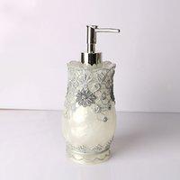 Ev Banyo Mutfak Kaliteli dantel laciness losyon şişe reçine emülsiyon şişe klasik el basınç pompası kafa sabunluk prochoos