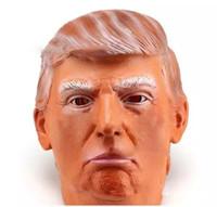Donald Trump Overhead mascherina mascherine Puntelli divertente lattice celebrità famosa Billionaire Cosplay Masquerade Costume maschera Trump