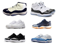 classic 11 basketball shoes 11s high low barons UNC midnight...
