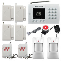 Wireless PIR Home Security Burglar Alarm System Auto Dialing...