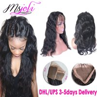 human hair 360 lace frontals Mongolian virgin hair body wave...