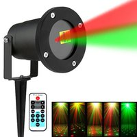 1PC Outdoor Lawn Spot Light Laser Light with Remote Waterpro...