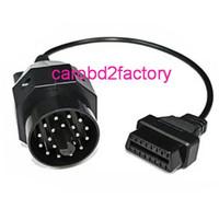 OBD 20Pin para o cabo do adaptador fêmea 16pin OBD2 para BMW
