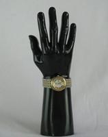 Envio Grátis! New Jewellery Modelos Luva Display Mãos, Manequins Armário de Mão Exibição Relógio Base Masculino Luvas de Jóias Modelo, M00492