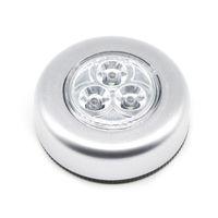 Umlight1688 500pcs Lote 3LED alimentado por bateria sem fio Noite Light Stick Tap Lamp Toque pau-de empurrar luz Coloque isso em qualquer lugar