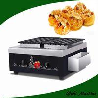 Ticari Gaz Takoyaki Maker Makinesi Takoyaki Izgara Takoyaki Pan Satılık Popüler Lezzetli Japonya Aperatif Yiyecek Makinesi