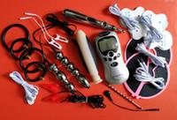 Bdsm erwachsene sex spielzeug spiele bondage kit elektroimpuls elektrische schläge physikalische therapie ring penis vaginal anal stecker gelkissen